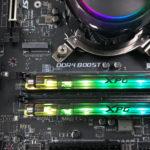 Модуль памяти ADATA XPG SPECTRIX D80 RGB с охлаждением жидким азотом разогнан до 5531 МГц