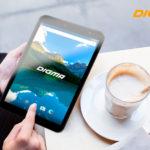 Новый 8-дюймовый планшет DIGMA Optima 8019N 4G с дисплеем 2.5D и Android 7.0