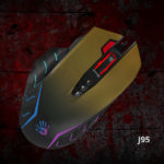 Новая игровая мышь A4 Bloody J95 в стиле милитари