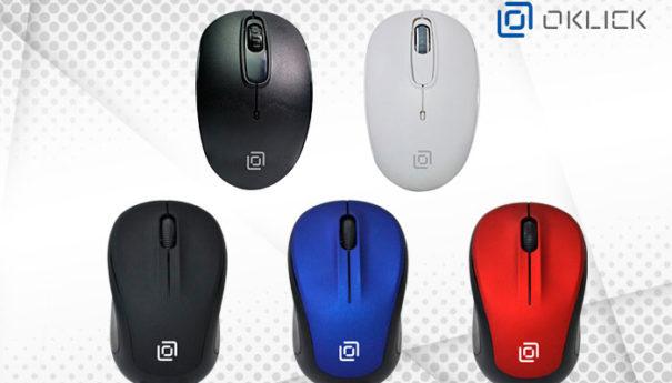 OKLICK выпустил беспроводные мыши 665MW, 655MW и 505MW