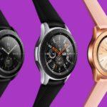 Samsung представил новые умные часы Galaxy Watch на Exynos 9110